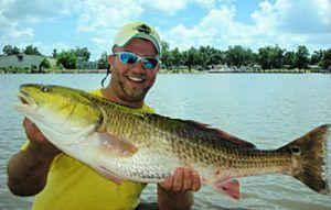 New Orleans and Delacroix Fishing Guide, Capt. Nicholas Rando